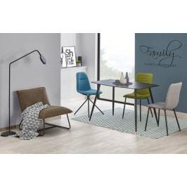 Halmar Jídelní stůl PROTON, 120X75 cm, grafit