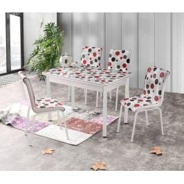 Halmar Jídelní stůl rozkládací STANBUL 4, 110/170x70 cm, vícebarevný