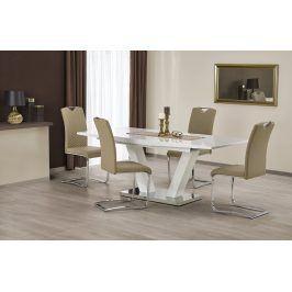 Halmar Jídelní stůl rozkládací VISION, 160/200x90 cm, bílý