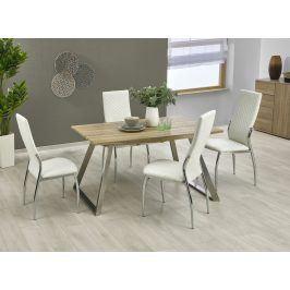 Halmar Jídelní stůl rozkládací TREVOR 130/170x80 cm, dub sonoma/bílý