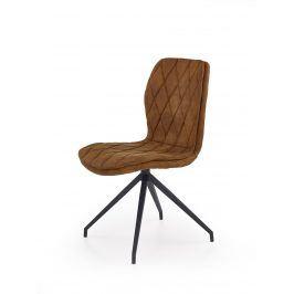 Jídelní židle K-237, hnědá