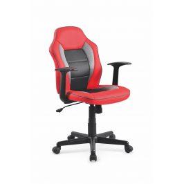 Kancelářská židle NEMO, černá/červená