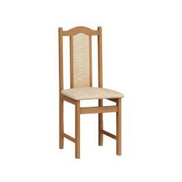 Jídelní židle A, potah monaco, olše