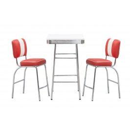 Halmar Barový stolek SB11, bílý