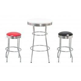 Halmar Barový stolek SB12, bílý