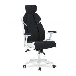 Kancelářské křeslo CHRONO, bílá/černá