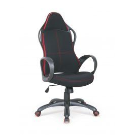Halmar Kancelářské křeslo HELIX 2, černá/červená
