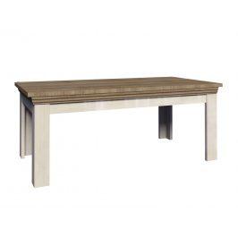 Smartshop ROYAL rozkládací jídelní stůl ST, borovice norská/dub divoký