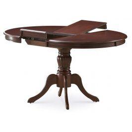Jídelní stůl OLIVIA rozkládací, ořech tmavý
