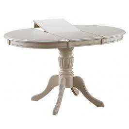 Smartshop Jídelní stůl OLIVIA rozkládací, bianco