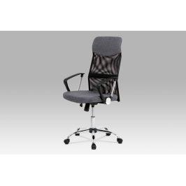 Kancelářská židle KA-E301 GREY, šedá