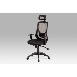 Kancelářská židle KA-A186 BK, černá Kancelářská křesla