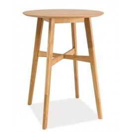 Smartshop Barový stůl TRENTO, dub