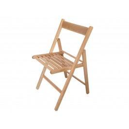 Idea Skládací židle,  masiv buk