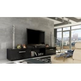 Smartshop TV stolek MALTON, černý lesk