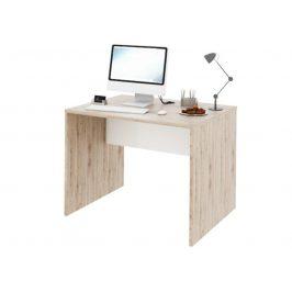 RIOMA psací stůl TYP 12, dub san remo/bílá