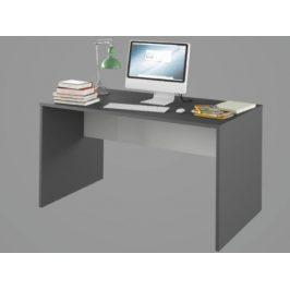 RIOMA psací stůl TYP 11, grafit/bílá