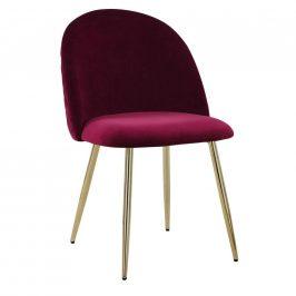 Jídelní Židle Artdeco Bordová Židle do kuchyně