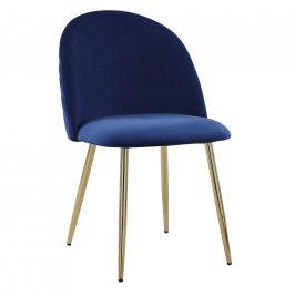 Jídelní Židle Artdeco Modrá Židle do kuchyně