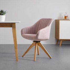 Jídelní Židle Leonie Růžová