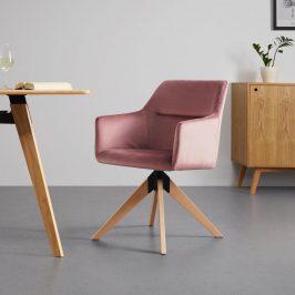 Jídelní Židle Sara Starorůžová Židle do kuchyně
