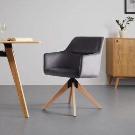 Jídelní Židle Sara Šedá Židle do kuchyně