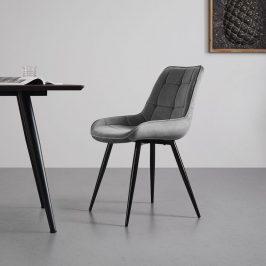 Jídelní Židle Alina Šedá Židle do kuchyně