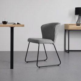 Jídelní Židle Tiffany Šedá