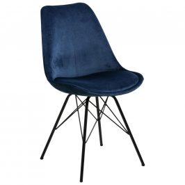 Jídelní Židle Eris Tmavě Modrá Židle do kuchyně