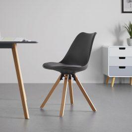 Jídelní Židle Ricky Šedá Židle do kuchyně