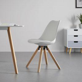 Jídelní Židle Ricky Bílá Židle do kuchyně