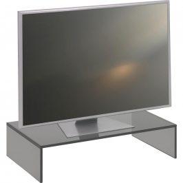Xora TV NÁSTAVEC, sklo, šedá - šedá