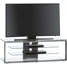 TV STOLEK, antracitová, 130/42/40 cm - antracitová