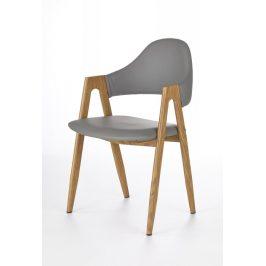 Jídelní židle K247 Halmar Bílá