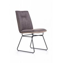 Jídelní židle K270 šedá Halmar