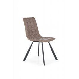 Jídelní židle K280 hnědá Halmar