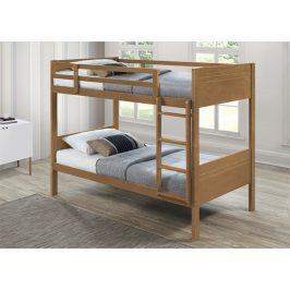Dětská patrová postel MAKIRA dub Tempo Kondela