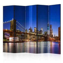 Paraván Blue New York II Dekorhome