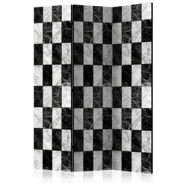 Paraván Checker Dekorhome 135x172 cm (3-dílný)