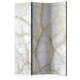 Paraván White Marble Dekorhome 135x172 cm (3-dílný)