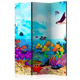 Paraván Underwater Fun Dekorhome 135x172 cm (3-dílný)