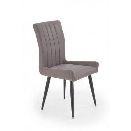 Jídelní židle K367 šedá / černá Halmar