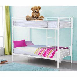 Rozložitelná patrová postel JAMILA bílá Tempo Kondela