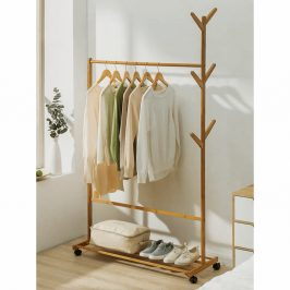 Stojan na šaty VIKIR TYP 3 bambus Tempo Kondela