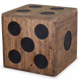Úložný box dřevo Dekorhome