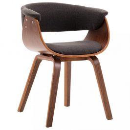 Jídelní židle ohýbané dřevo Dekorhome Šedá