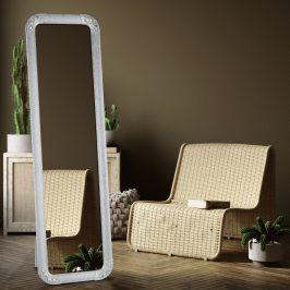 Stojanové zrcadlo EZRIN stříbrná Tempo Kondela