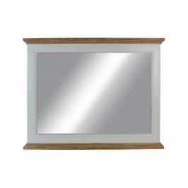 Zrcadlo XT053 bílá antik / přírodní Autronic