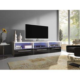 Moderní TV stolek Karel RTV-2 + LED