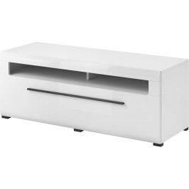 TV stolek Toulouse 40, bílá/bílý lesk